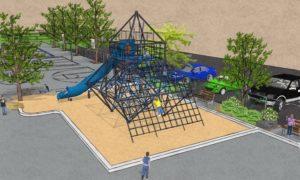 Module de jeu du futur parc école